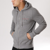 /achat-sweats-zippes-capuche/calvin-klein-sweat-zippe-capuche-homer-3-hd-zip-6998-gris-chine-127809.html