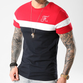 /achat-t-shirts/final-club-tee-shirt-tricolore-avec-broderie-008-bleu-marine-blanc-rouge-127945.html