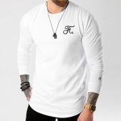 /achat-t-shirts-manches-longues/final-club-tee-shirt-manches-longues-premium-fit-avec-broderie-019-blanc-127947.html
