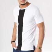 /achat-t-shirts-longs-oversize/frilivin-tee-shirt-oversize-avec-bande-2853-blanc-noir-127751.html
