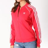 /achat-vestes/adidas-veste-zippee-femme-sst-ce2393-rouge-127969.html