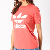 /achat-t-shirts/adidas-tee-shirt-femme-trefoil-cv9890-corail-128006.html
