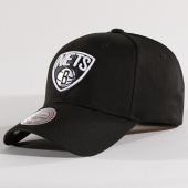 /achat-casquettes-de-baseball/mitchell-and-ness-casquette-team-logo-low-pro-brooklyn-nets-noir-128176.html