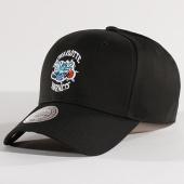 /achat-casquettes-de-baseball/mitchell-and-ness-casquette-team-logo-low-pro-charlotte-hornets-noir-128177.html