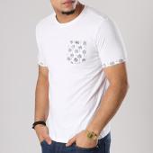 /achat-t-shirts-poche/the-fresh-brand-tee-shirt-poche-shtf930-blanc-floral-128125.html