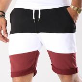 /achat-shorts-jogging/lbo-short-jogging-396-tricolore-noir-blanc-bordeaux-128402.html