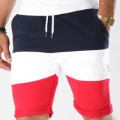 /achat-shorts-jogging/lbo-short-jogging-394-tricolore-noir-bleu-marine-rouge-128411.html