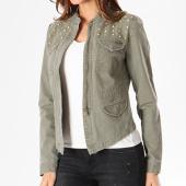 /achat-vestes-jean/only-veste-jean-zippee-femme-austin-sud-and-stones-vert-kaki-128358.html