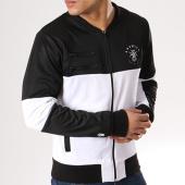 /achat-vestes/anthill-veste-zippee-bicolore-logo-blanc-noir-128593.html