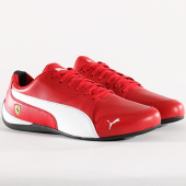 /achat-baskets-basses/puma-baskets-ferrari-drift-cat-7-305998-01-rosso-corsa-white-black-128613.html
