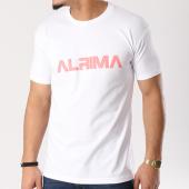 /achat-t-shirts/alrima-tee-shirt-logo-blanc-rose-128712.html