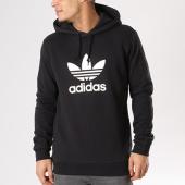 /achat-sweats-capuche/adidas-sweat-capuche-trefoil-cw1240-noir-blanc-129228.html