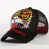 /achat-trucker/ed-hardy-casquette-trucker-strass-tiger-noir-rouge-129319.html