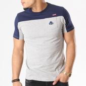 /achat-t-shirts-poche/kappa-tee-shirt-poche-authentic-dayley-gris-chine-bleu-marine-129536.html