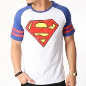 /achat-t-shirts/dc-comics-tee-shirt-superman-sport-gris-clair-chine-bleu-marine-129860.html
