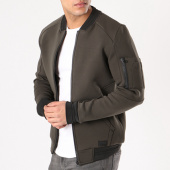 /achat-vestes/mz72-veste-zippee-poche-bomber-link-vert-kaki-noir-129828.html