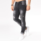 /achat-jeans/john-h-jean-slim-avec-zips-a265-noir-130004.html