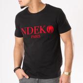 /achat-t-shirts/ndeko-tee-shirt-typo-noir-rouge-129910.html