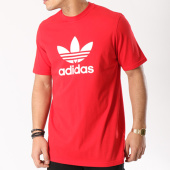 /achat-t-shirts/adidas-tee-shirt-trefoil-cx1895-rouge-blanc-130174.html