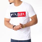 /achat-t-shirts/firelek-tee-shirt-logo-bicolore-feutrine-blanc-rouge-bleu-marine-130091.html