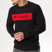 /achat-sweats-col-rond-crewneck/firelek-sweat-crewneck-logo-feutrine-noir-130094.html