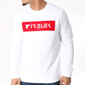 /achat-sweats-col-rond-crewneck/firelek-sweat-crewneck-logo-feutrine-blanc-130120.html