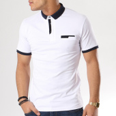 /achat-polos-manches-courtes/ikao-polo-manches-courtes-g-763-blanc-130523.html
