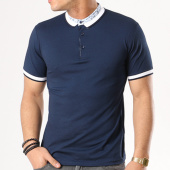 /achat-polos-manches-courtes/ikao-polo-manches-courtes-g-770-bleu-marine-130527.html