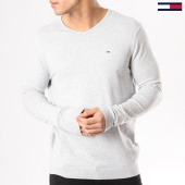/achat-pulls/tommy-hilfiger-jeans-pull-tjm-original-4402-gris-chine-130489.html