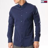 /achat-chemises-manches-longues/tommy-hilfiger-jeans-chemise-manches-longues-tjm-original-stretch-4405-bleu-marine-130492.html