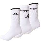 /achat-chaussettes/kappa-lot-de-3-paires-de-chaussettes-302rhq0-blanc-noir-130906.html