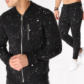 /achat-ensembles-survetement/uniplay-ensemble-de-survetement-uy174-noir-speckle-130875.html
