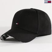 /achat-casquettes-de-baseball/tommy-hilfiger-jeans-casquette-print-aw0aw05237-noir-blanc-131189.html