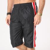 /achat-maillots-de-bain/zayne-paris-short-de-bain-bandes-brodees-j1029k-noir-rouge-131182.html