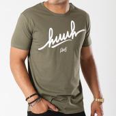 /achat-t-shirts/kpoint-tee-shirt-huuh-logo-vert-kaki-131526.html