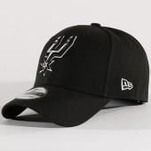 /achat-casquettes-de-baseball/new-era-casquette-the-league-nba-san-antonio-spurs-noir-131417.html