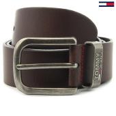/achat-ceintures/tommy-hilfiger-jeans-ceinture-metal-loop-3286-marron-131362.html
