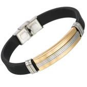 /achat-bracelets/california-jewels-bracelet-straight-noir-dore-131642.html