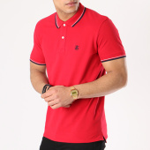 /achat-polos-manches-courtes/selected-polo-manches-courtes-new-season-rouge-131649.html