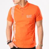 /achat-polos-manches-courtes/ea7--polo-manches-courtes-3zpf96-pj02z-orange-gris-132101.html