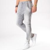 /achat-jeans/siksilk-jean-slim-abrasion-12230-gris-132085.html
