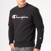 /achat-sweats-col-rond-crewneck/champion-sweat-crewneck-210975-noir-132234.html