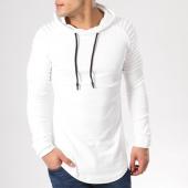 /achat-sweats-capuche/john-h-sweat-crewneck-oversize-velours-551-blanc-132314.html