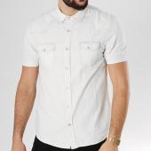 /achat-chemises-manches-courtes/paname-brothers-chemise-manches-courtes-cindy-blanc-bleu-clair-132394.html