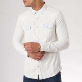 /achat-chemises-manches-longues/paname-brothers-chemise-manches-longues-cloe-blanc-bleu-clair-132408.html
