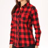 /achat-chemises-manches-longues/urban-classics-chemise-manches-longues-femme-tb1280-noir-rouge-132439.html