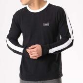/achat-t-shirts-manches-longues/obey-tee-shirt-manches-longues-avec-bande-borstal-box-noir-blanc-132644.html