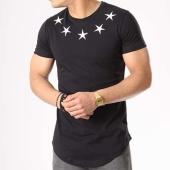 /achat-t-shirts-longs-oversize/john-h-tee-shirt-oversize-602-noir-blanc-132821.html