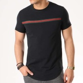 /achat-t-shirts-longs-oversize/vip-clothing-tee-shirt-oversize-bandes-brodees-1756-noir-133124.html