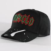 /achat-casquettes-de-baseball/vip-clothing-casquette-vip-noir-vert-133182.html